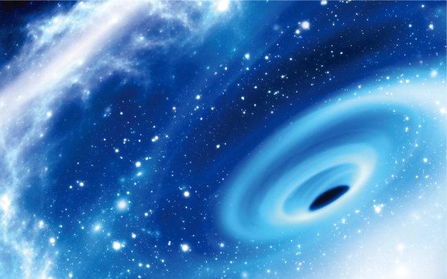 만약 우주가 홀로그램이라면 그곳에 빨려 들어간 사람은 어떻게 될까. [GETTYIMAGES]
