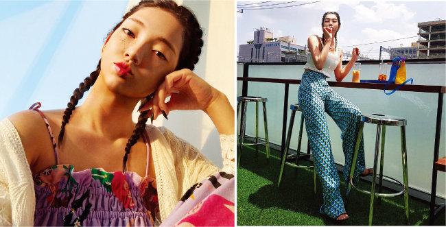 신한라이프 광고 모델 '로지'. 로지는 3만 명 넘는 인스타그램 팔로어를 거느리고 있다. [@rozy.gram 인스타그램]