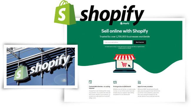 쇼피파이는 전자상거래 솔루션 회사다.