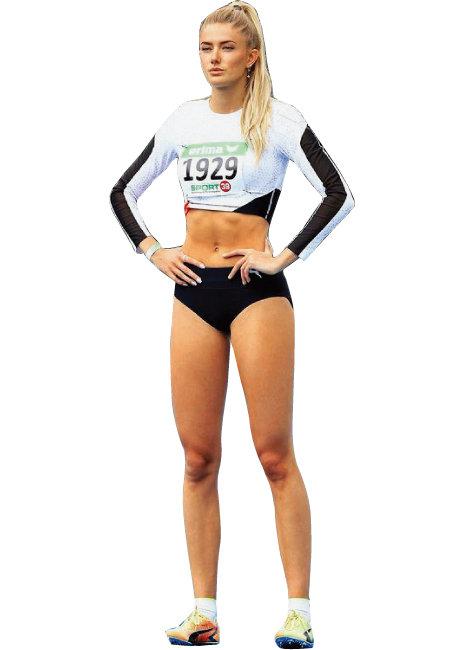 전 세계 다양한 매체가 '세계에서 가장 섹시한 운동선수'로 여러 차례 꼽은 독일 육상  국가대표 알리카 슈미트. 슈퍼모델 못지않은 몸매에 소멸 직전의 작은 얼굴로 완벽한 비율을 뽐낸다. 섹시하면서 강인한 느낌을 자아내는 포니테일 헤어스타일도 Good!. [인스타그램]