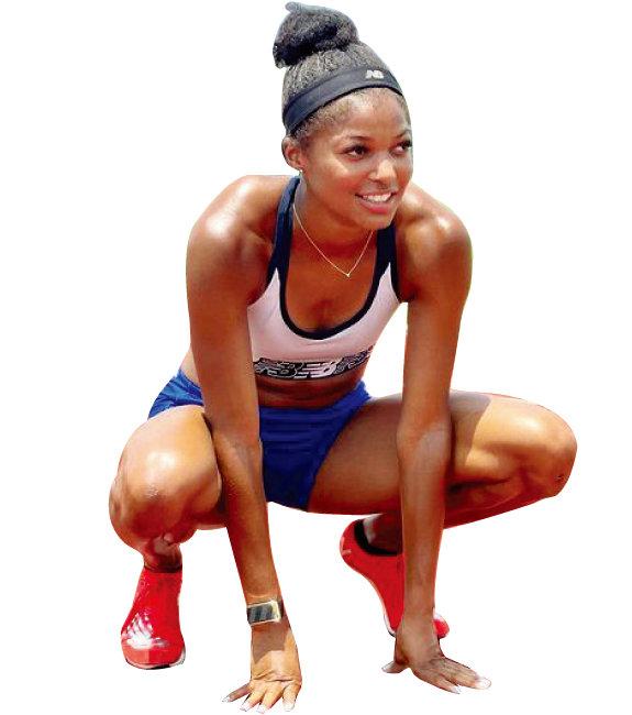 활짝 웃는 모습이 아름다운 미국 육상 국가대표 개브리엘 토머스는 성냥 5개는 너끈히 올라갈 만한 긴 속눈썹이 스타일의 포인트. 2020 도쿄올림픽 육상 여자 200m에서 활약했다. [인스타그램]