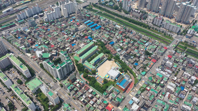 올 하반기 재건축 최대어로 꼽히는 서울 서대문구 북가좌6구역. 시공사 입찰이 진행 중이다.