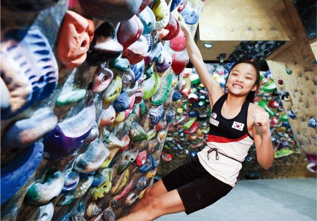 2020 도쿄올림픽 스포츠클라이밍 여자 콤바인 결선에서 총 112점으로 8위에 오른 서채현 선수. [동아DB]