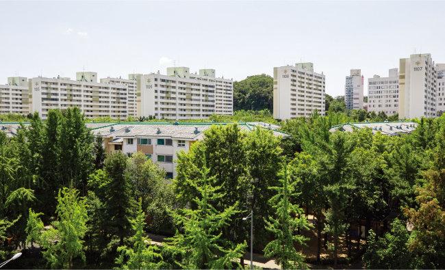 서울 양천구 목동신시가지 11단지 아파트. [조영철 기자]