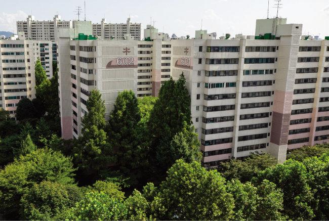서울 양천구 목동신시가지 6단지 아파트. [조영철 기자]