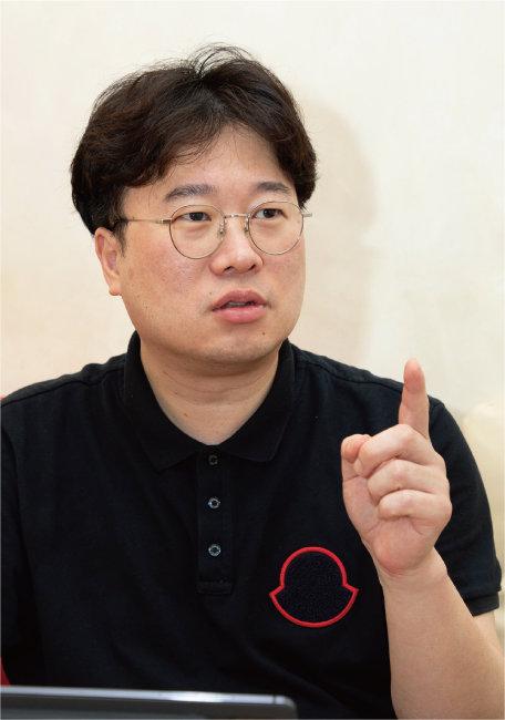 중산층 일자리 복원은 전 세계 모두의 고민이라고 말하는 박정호 명지대 특임교수. [조영철 기자]