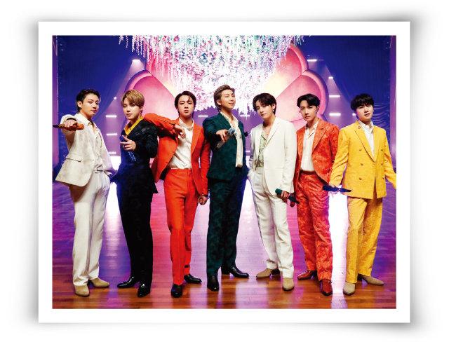 방탄소년단(BTS)이 태권도처럼 전 세계 주류 팝시장을 휩쓸고 있다. [뉴스1]
