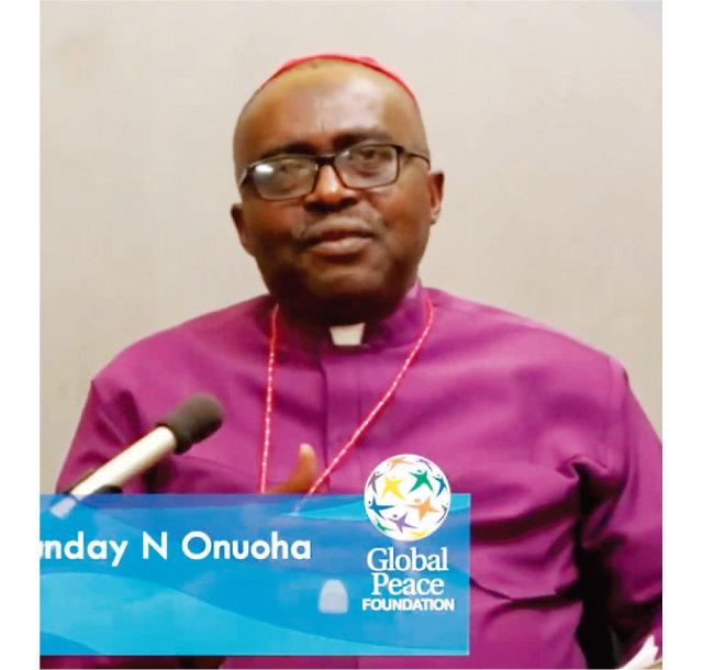 비전아프리카 창설자 겸 회장인 썬데이 오누오하 주교(Dr. Bishop Sunday N Onuoha).