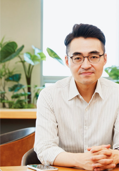 """8월 18일 서울 여의도에서 만난 염승환 이베스트투자증권 이사는 """"9월 중순부터 다시 상승장이 펼쳐질 것""""이라고 말했다. [홍중식 기자]"""