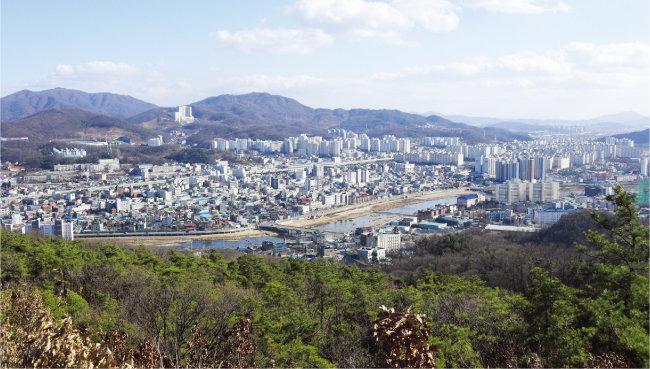 부동산 비규제지역인 경기 동두천시 전경. [뉴스1]