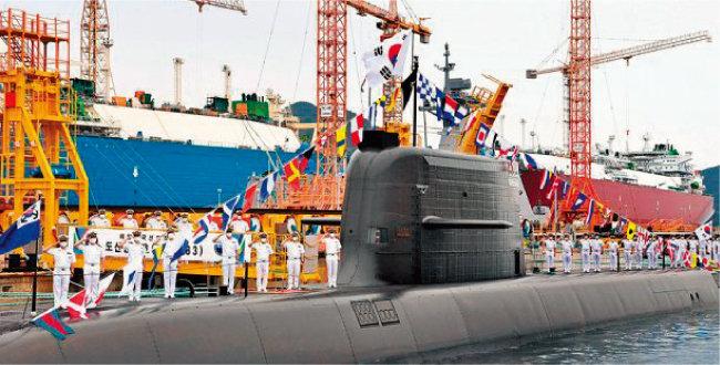 대우조선해양(DSME) 도산 안창호급 잠수함. [사진 제공 · 대우조선해양]