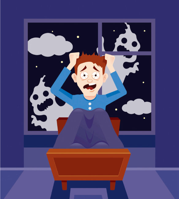 예지몽을 꾸는 것은 무의식 사이에 끌어당김이 작용한 결과다. [GETTYIMAGES]