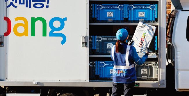 쿠팡 배송기사는 지난해 기준 1만5000여 명이다. [사진 제공 · 쿠팡]