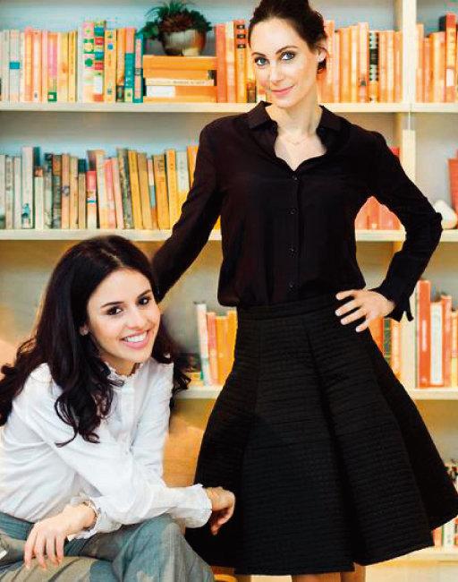 피그스 창업자 해더 해슨(오른쪽)과 트리나 스피어. [피그스 홈페이지 캡처]