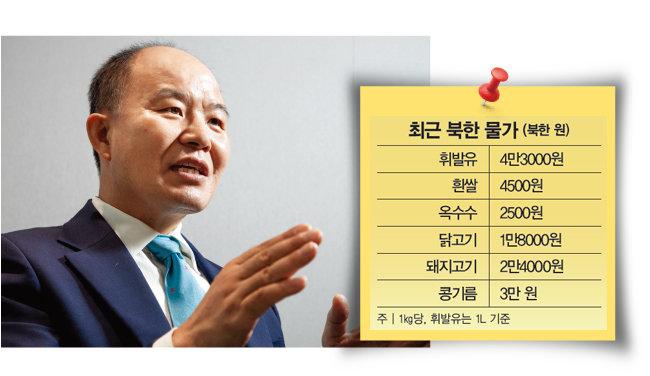 김형덕 한반도평화번영연구소 소장. [조영철 기자]