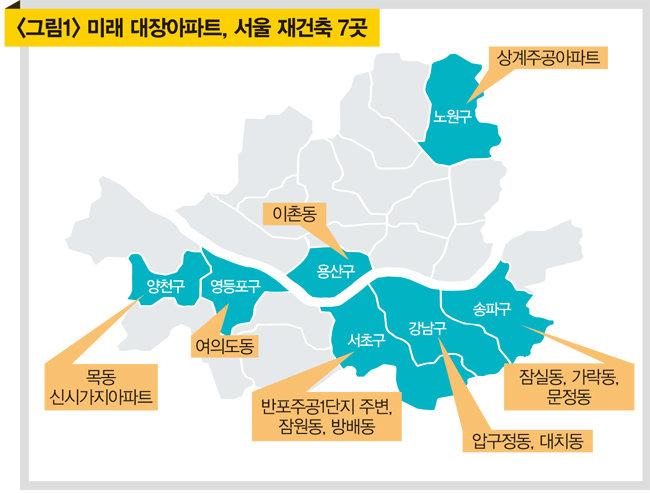 [자료 | 대한민국 재건축 재개발 지도]