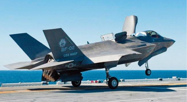 미국 F-35B 전투기. [사진 제공 · 록히드마틴]