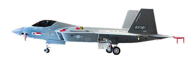 국산 전투기 KF-21 '보라매'. [사진 제공 · 방위사업청]