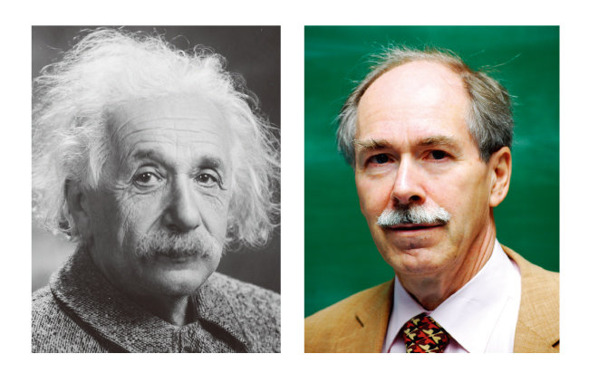 물리학자 아인슈타인(왼쪽). 네덜란드 물리학자 헤라르뒤스 엇호프트. [사진 제공 · 미국 의회 도서관, 위키피디아]