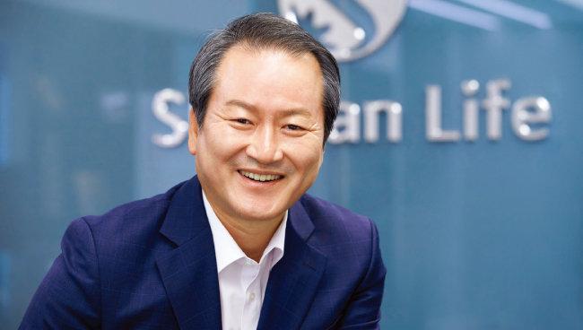 성대규 신한라이프 사장.