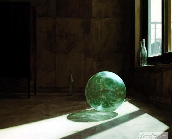 정보영, Transparent  Shadow, 2015, oil on canvas