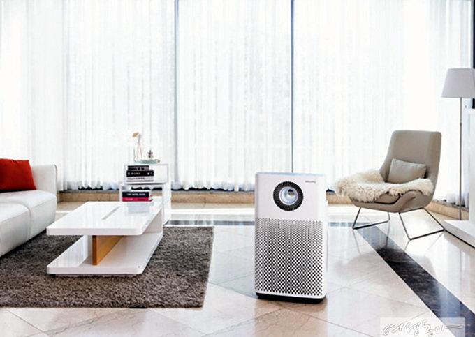 우리 집 겨울철 실내 공기 책임지는 코웨이 멀티액션 가습공기청정기 IoCare
