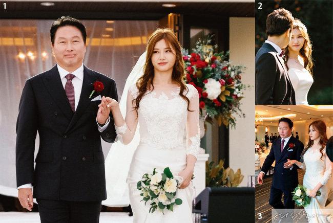 [단독 공개] 맏딸 손 잡은 '신부의 아버지' SK 최태원 회장