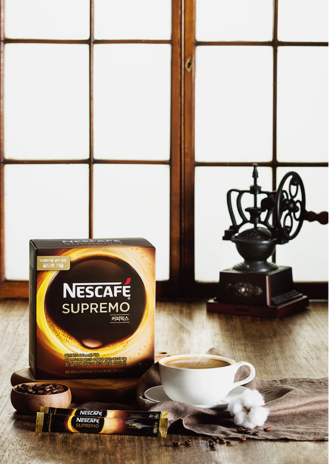 프리미엄 커피를 알아보는 커피 마니아라면 네스카페 수프리모