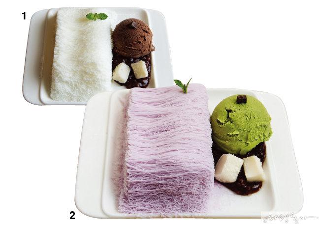 당신의 얼음디저트에 한 표! ICE dessert