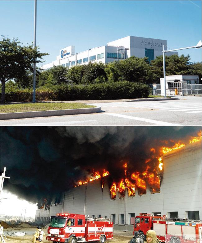 3월 25일 화재가 발생한 GGK 기내식 공장 신축 공사장(아래). 7월 19일 여성동아가 이곳을 찾았을 때 그 사이 모든 공사를 마치고 준공 허가를 받은 상태였다.
