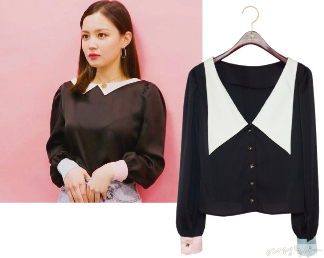 MISS BACK BLOUSE-BLACK 19만8천원. @leehi_hi
