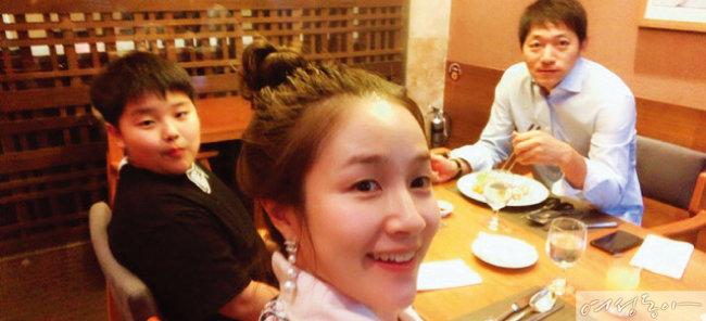 김보민 아나운서 가족이 있는 삶