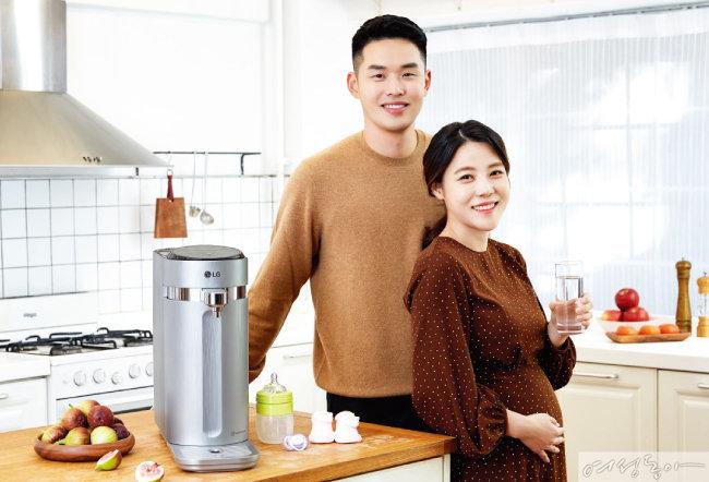 '렌털 서비스 소비자 만족도 1위' LG 퓨리케어 정수기