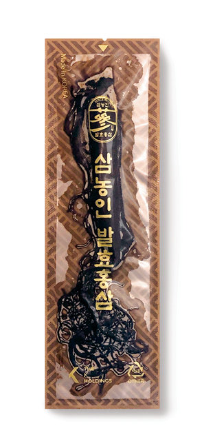 눈으로 보며 뿌리째 씹어 먹는 삼농인발효홍삼
