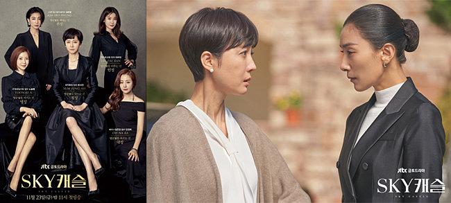 ▲ 사진 : JTBC 'SKY캐슬' 드라마 포스터 및 스틸 컷