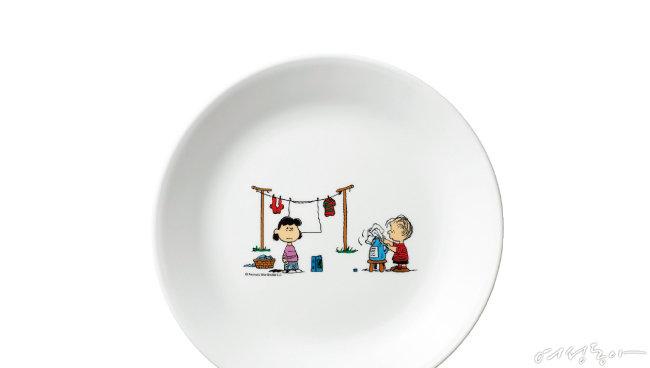 유쾌한 식사, 일러스트 플레이트