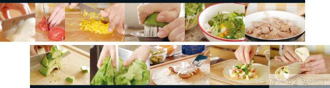 피크닉 가요~ 치킨타코 & 불고기김밥 도시락