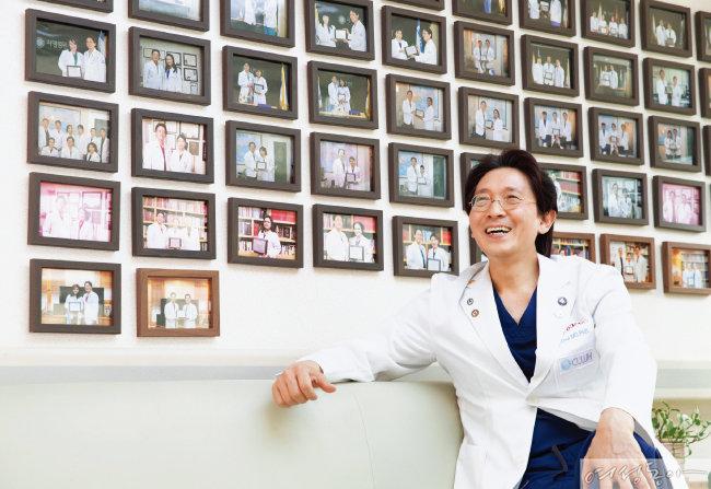 최범채 시엘병원 원장은 10년 넘게 몽골, 우즈베키스탄, 중국, 러시아 등에 난임 치료 및 시술 노하우를 전수했다.