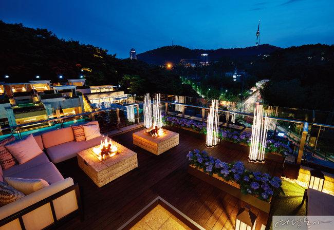 인싸라면 꼭 가봐야 할 그곳, 서울신라호텔 루프탑 가든