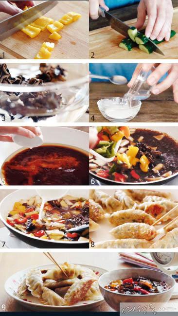 홈메이드 중화요리 칠리새우 & 만두탕수육