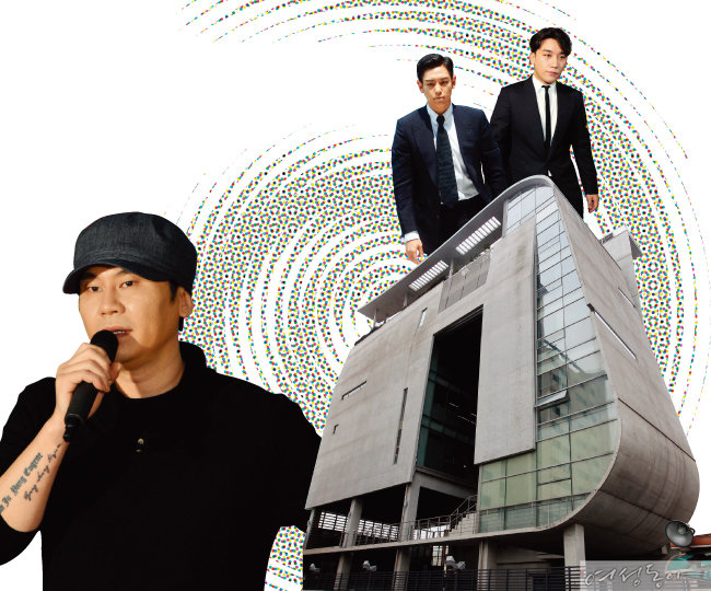 '양현석' 아닌 '약국' YG는 왜 오명의 아이콘이 됐나