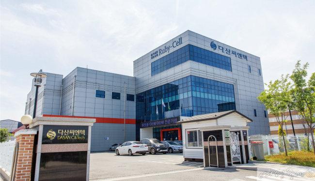 경기도 김포에 위치한 다산씨엔텍 공장.