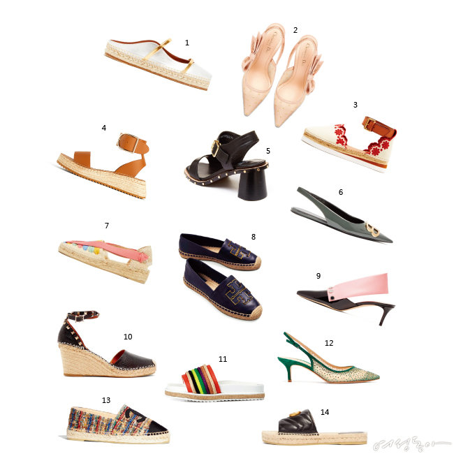 Summer New Shoes List