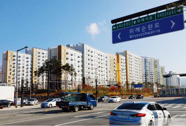 분양 시장에서 서울과 맞닿은 '북위례'의 인기가 높다. 사진은 위례신도시 전경.