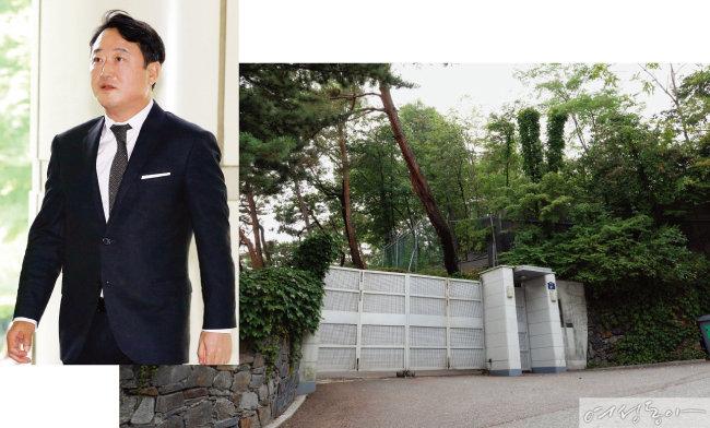 1백억원 자택 가압류당한 이웅열 전 회장