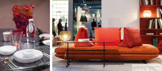 디자인 평가 전문가 샹탈 아마이드(Chantal Hamaide)가 관장하고 건축가 필립 부와슬리에(Philippe Boisselier)가 워크플레이스를 주제로 구현한 새로운 제품들은 전시장의 'What's New' 코너에서 만날 수 있다.