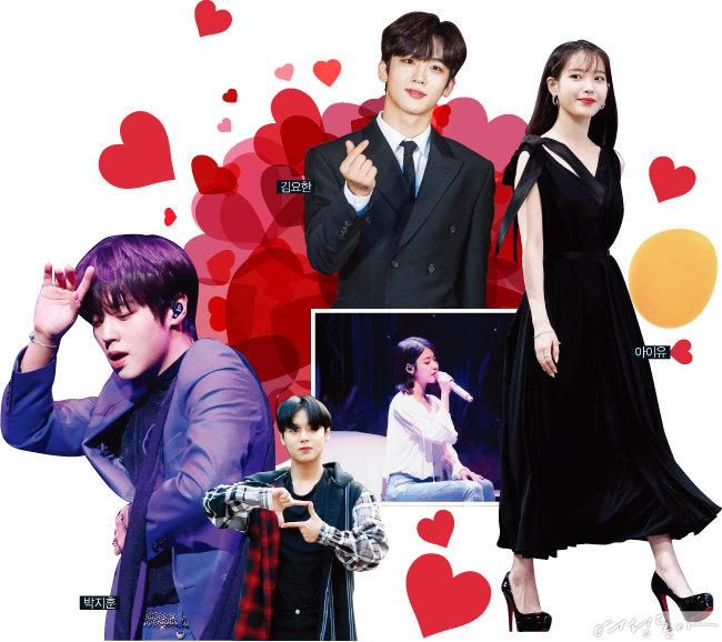 매력 부자 인싸 아이돌 12