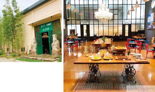 핵인싸들의 공간! 창고 카페의 매력 탐구 시간