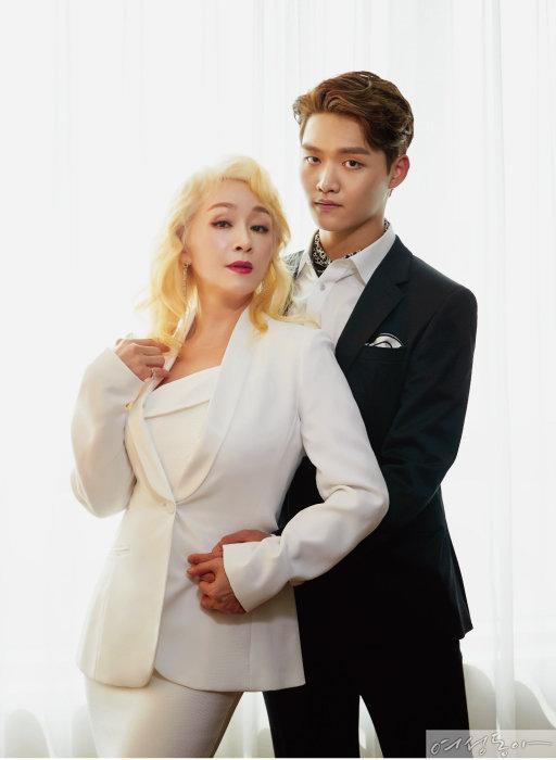 박해미·황성재의 '따로 또 같이'