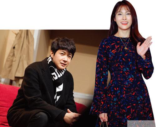 김승현(왼쪽), 박규리